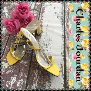 💗Vintage💗 Charles Jourdan sandals, size 10
